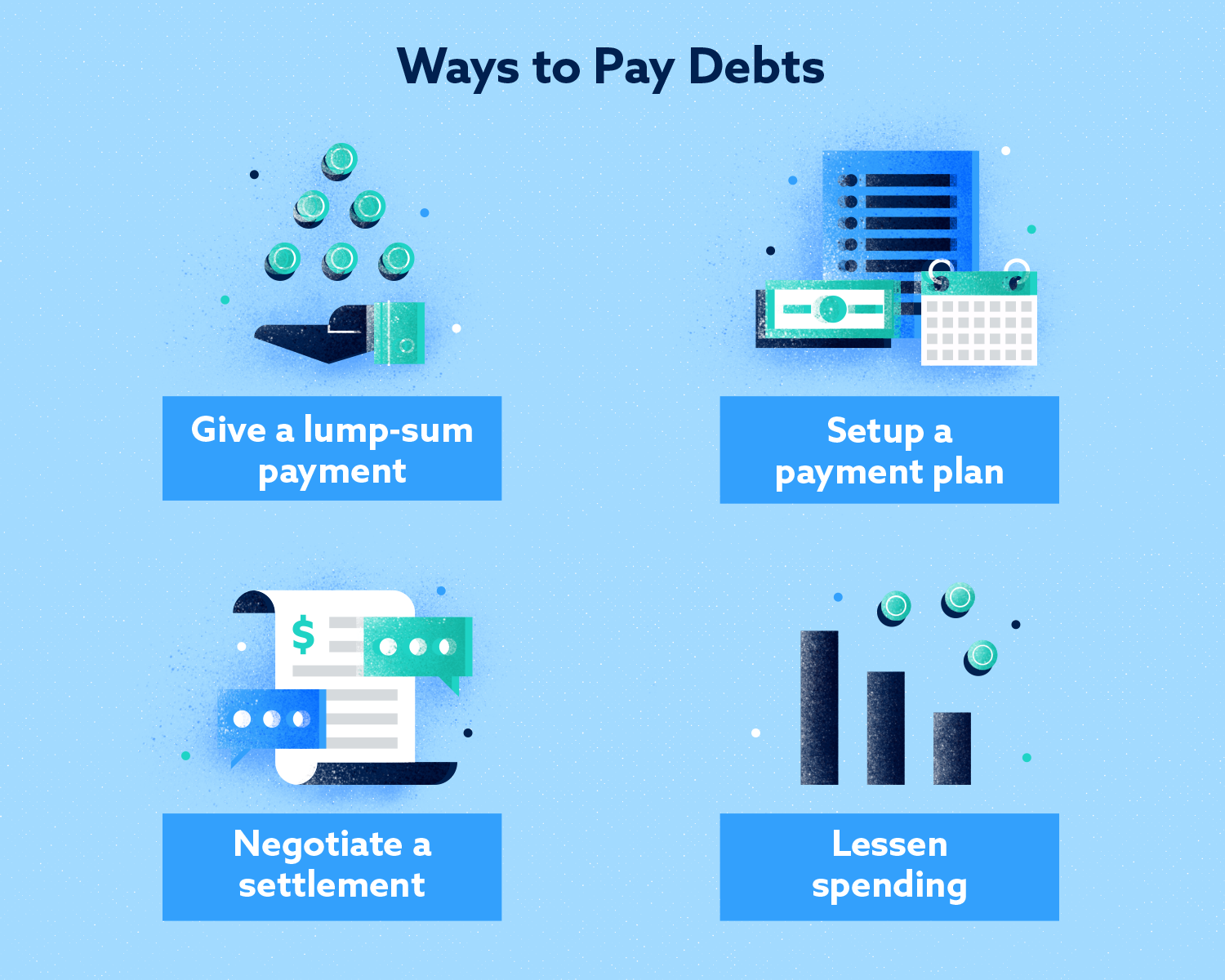 Ways to Pay Debts Image