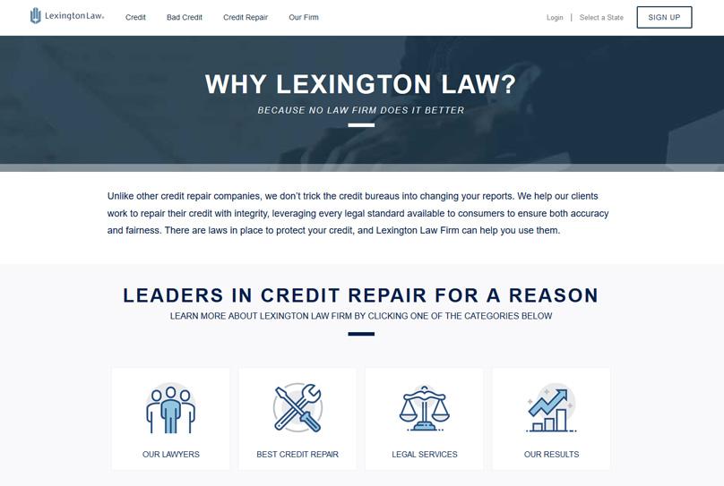 About Lexington Law