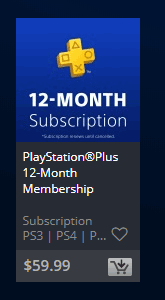 PlayStation® Plus Membership