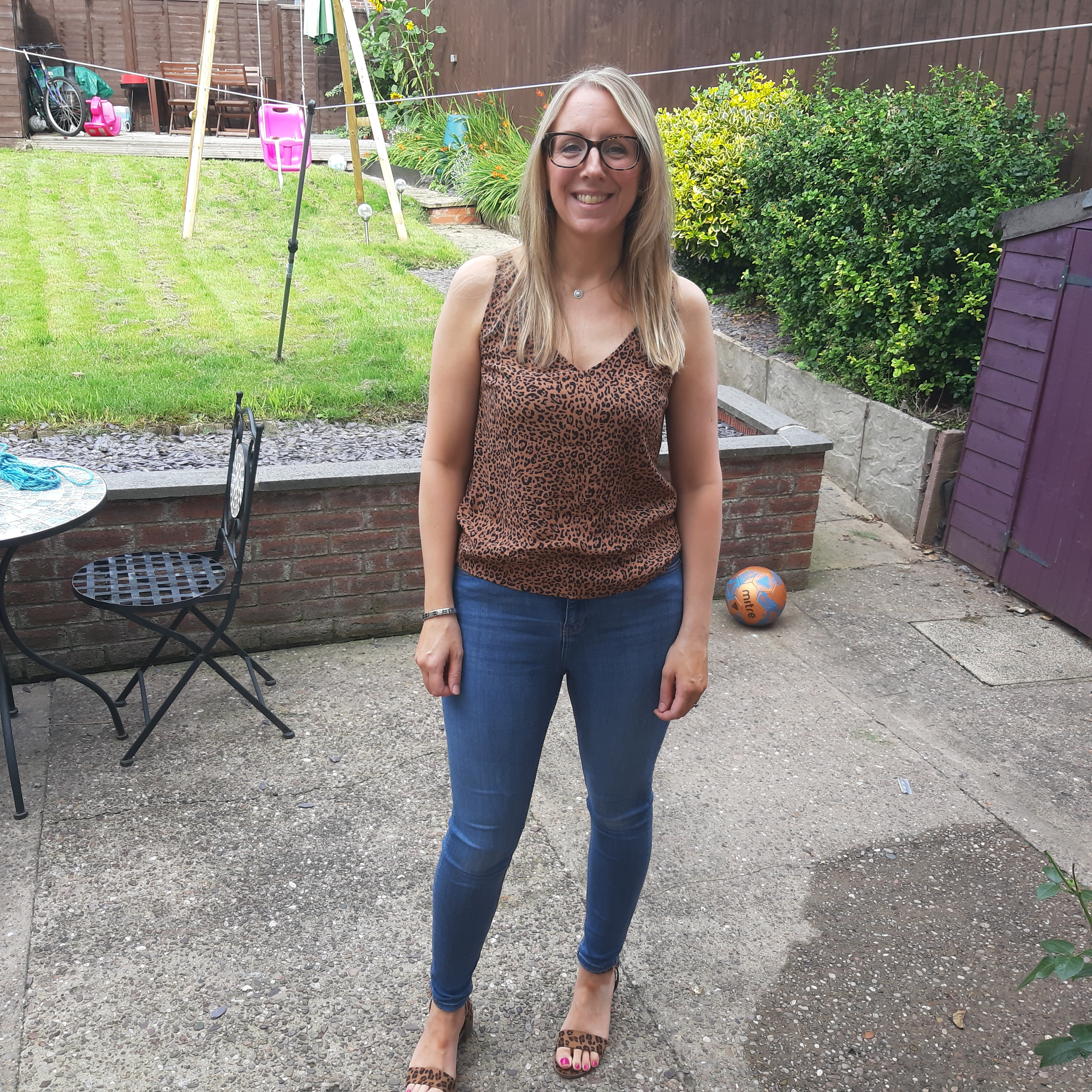 Sarah is finally debt free after eight years