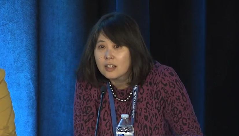 "Chi Chi Wu of the National Consumer Law Center takes part in the ""Navigating the Dispute Process"" discussion"