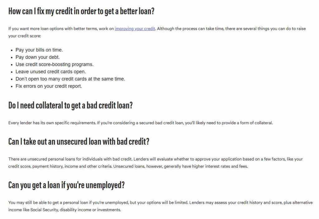 How can I fix my credit in order to get a better loan