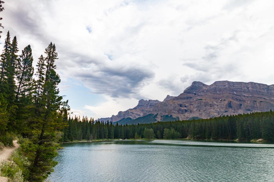 Johnson Lake - Banff National Park, Banff, Alberta, Canada