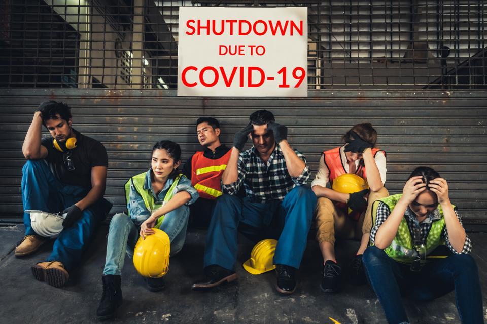 Factory shutdown due to outbreak of Coronavirus Disease 2019 or COVID-19.