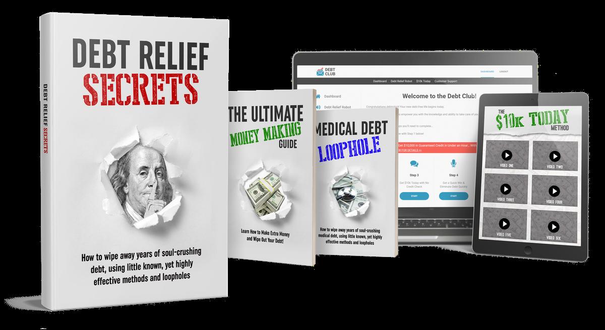debt relief secrets review