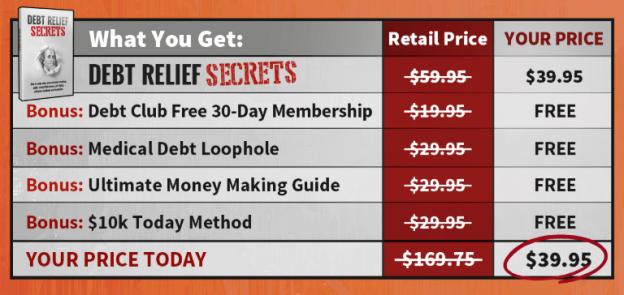How Does Debt Relief Secrets Work?