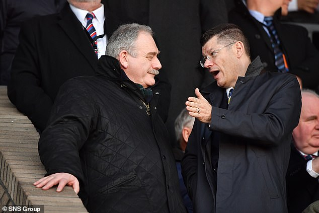 SFA President Rod Petrie (left) has now written to the 42 senior teams confirming the deal