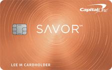 Capital One® Savor® Cash Rewards Credit Card