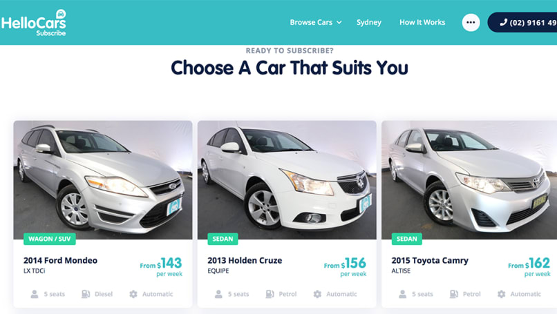 Most subscription services don't offer you a brand-new car.