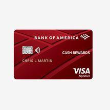 Bank of America Cash Back Rewards Credit Card