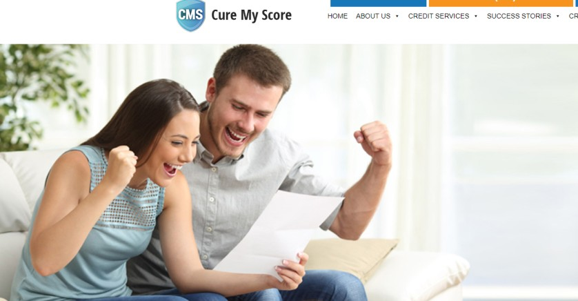 Cure My Score - credit repair company