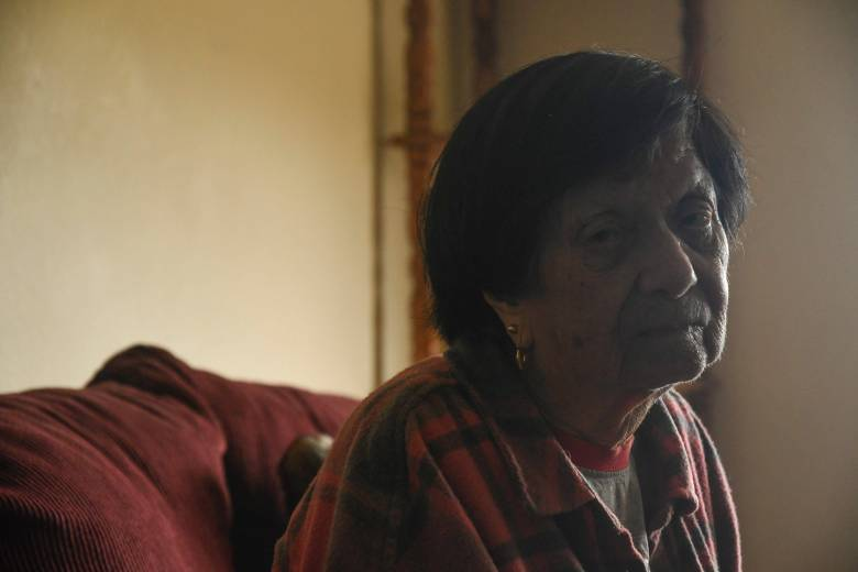Martinez's landlord told her to leave Friday or she'll be forced out by police. Aug. 7, 2020. Photo by Ayrton Ostly, The Salinas Californian