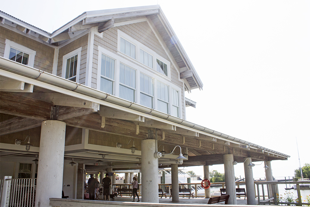 Though a price tag is yet to be determined for the multi-million dollar ferry system, the Bald Head Island Transportation Authority is working to acquire the system's privately-owned assets. (Port City Daily photo/Johanna Ferebee)