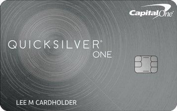 Capital One QuicksilverOne Cash Rewards Credit Card