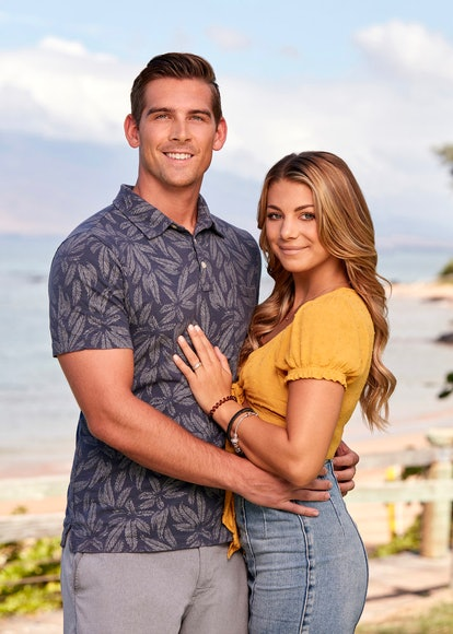 Corey Sobczyk and Erin Smith in 'Temptation Island' Season 3 via USA's press site