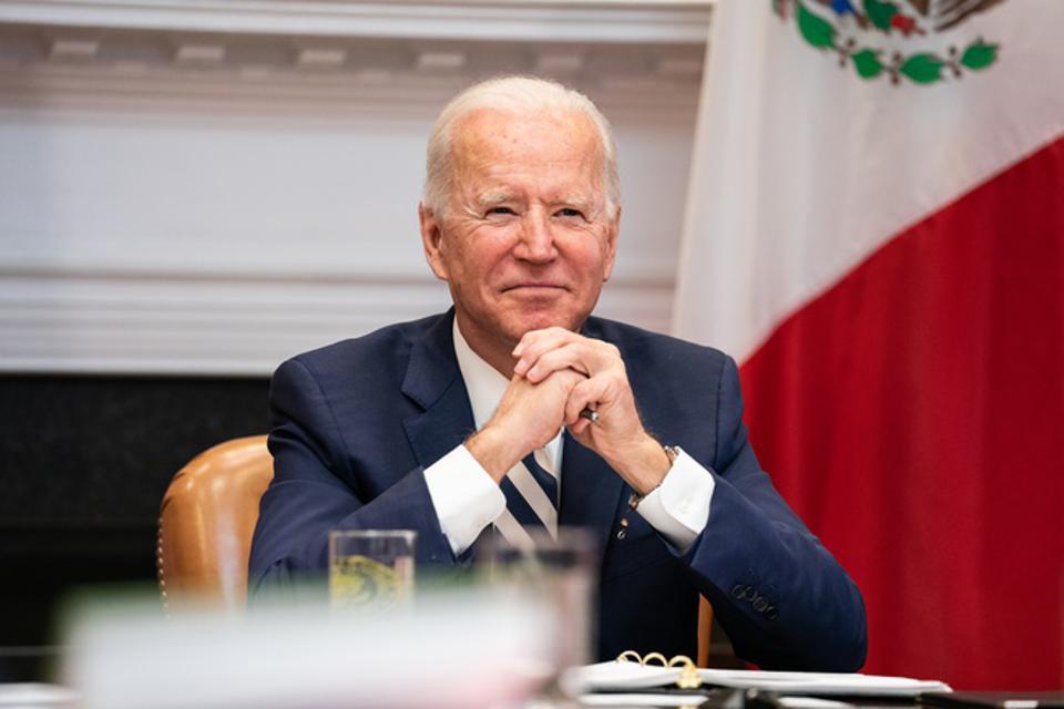 President Biden Meets Virtually With Mexican President Andrés Manuel López Obrador