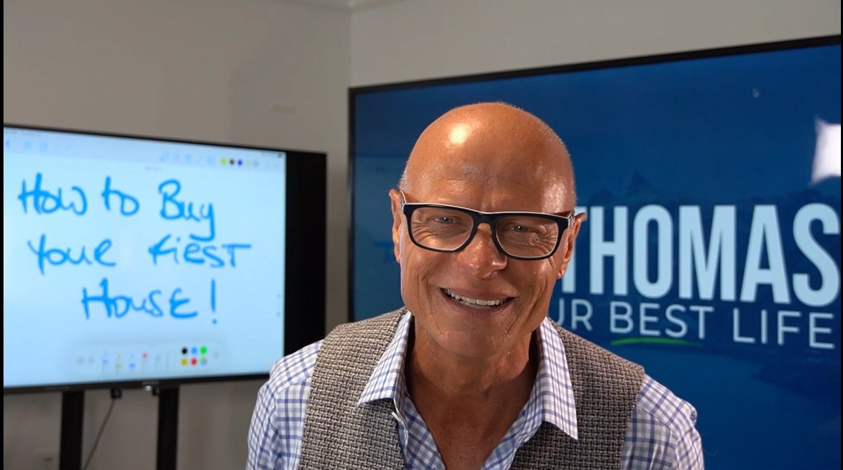 Life coach Rock Thomas advises people 'don't wait' to get on the property ladder