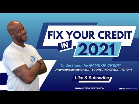 Credit is the key to the path of having a successful American lifestyle. It is IMPOSSIBLE to have any type of financial or personal success without having positive credit and understanding the game of credit. VISIT OUR WEBSITE: WWW.UPTRENDCREDIT.COM DON'T FORGET TO LIKE.SUBSCRIBE. AND HIT THE BELL to keep you updated with our latest videos.