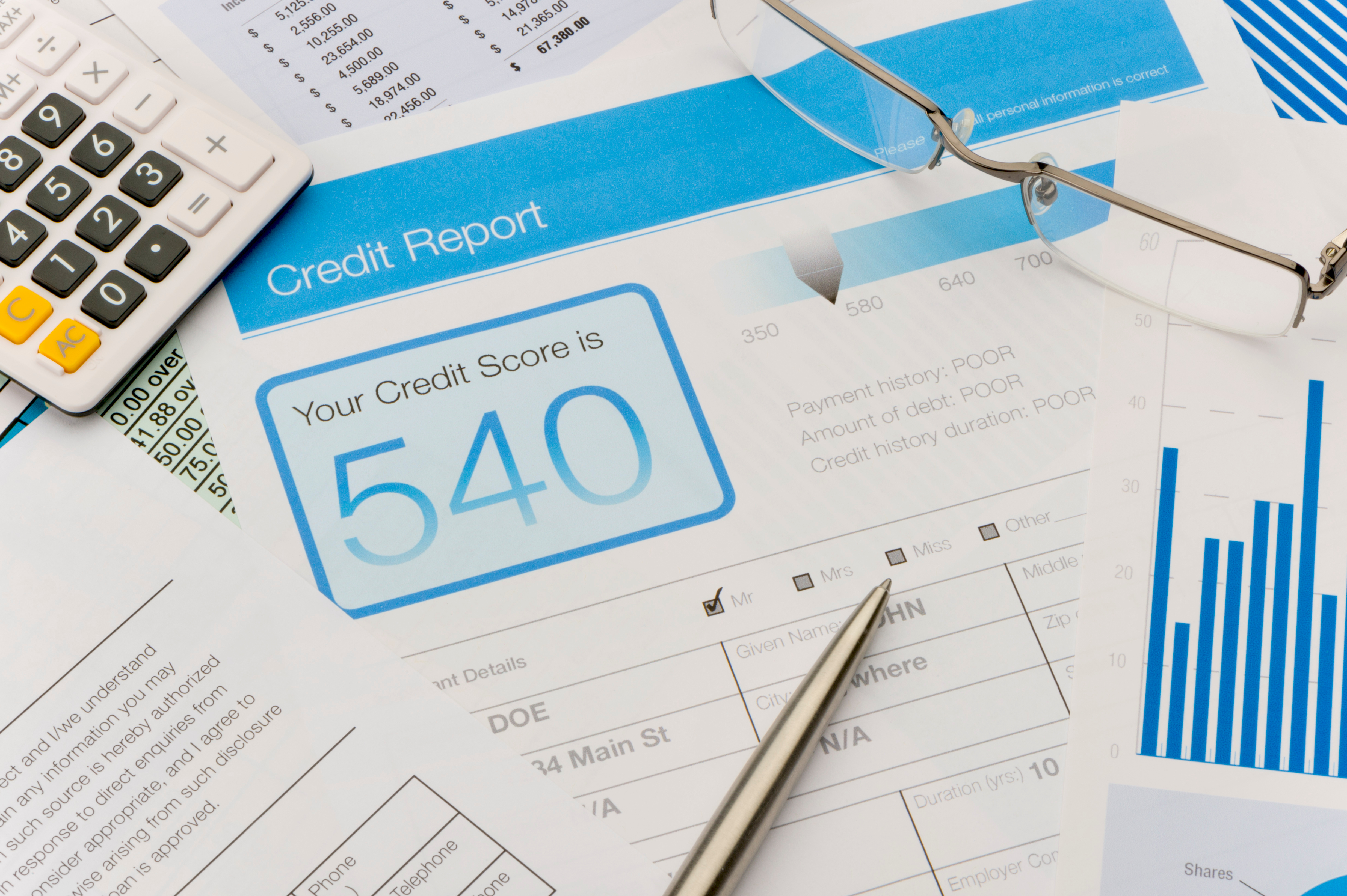 Your credit score is one of the most important bits of information when applying for a mortgage