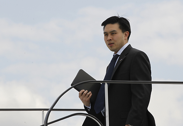 Longtime Republican policy adviser, Lanhee Chen announced Tuesday, July 6, 2021, he's running to succeed Betty Yee, a Democrat who cannot run again, as state controller. Photo by Charles Dharapak, AP Photo