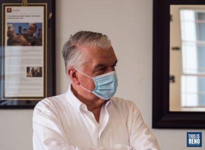 Governor Steve Sisolak. Image: Bob Conrad / This Is Reno, July 27, 2021.