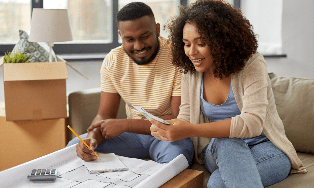 couples credit history